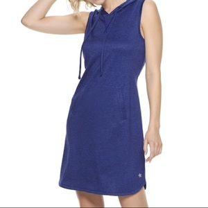 🆕💕Tek Gear Hooded Blue Workout Dress Size S
